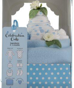 Celebration Cake Baby Boy Gift Set