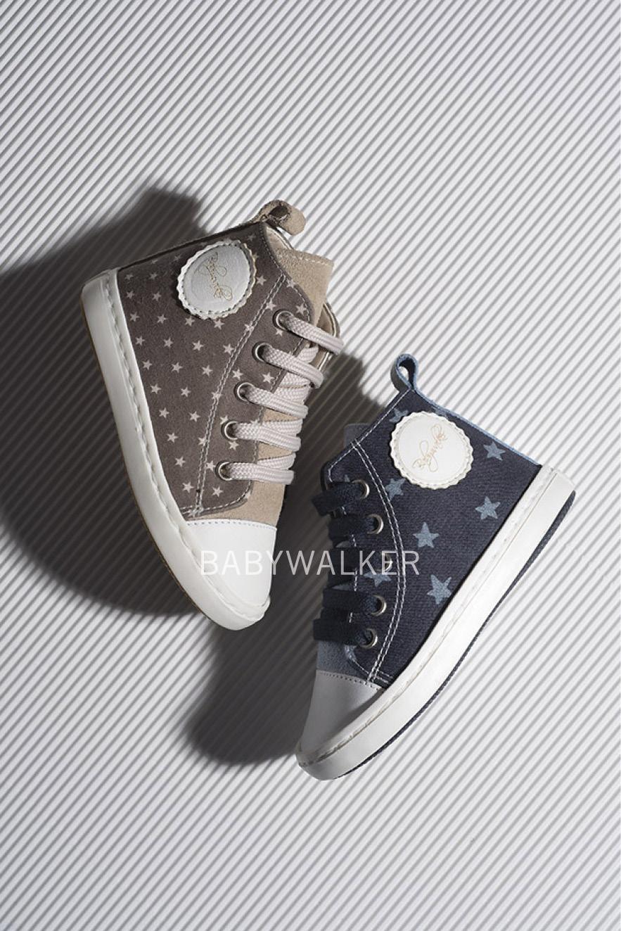 0439bc99a2a Babywalker δετό υφασμάτινο μποτάκι sneaker - Kika's Craft